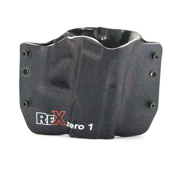 Image of Rex Zero 1 Logo on Kydex Gun Holster