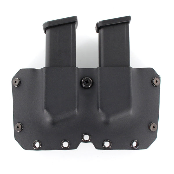 OWB - Double Mag Holster - Matte Black