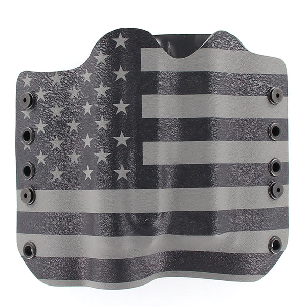 USA Gunmetal Gray TACTICAL HOLSTER WITH GLOCK 19 TLR1
