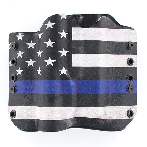 USA THIN BLUE LINE TACTICAL HOLSTER