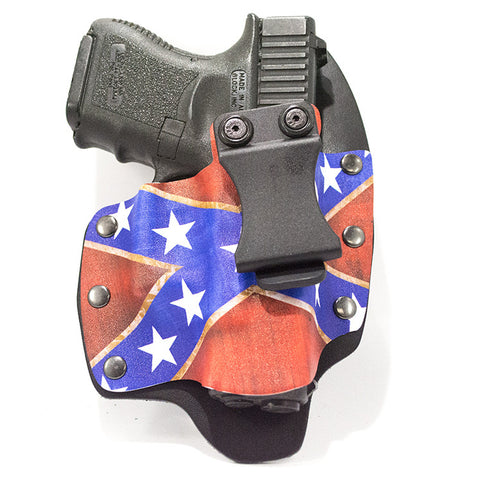 Image of Confederate Flag on Kydex NT Gun Holster