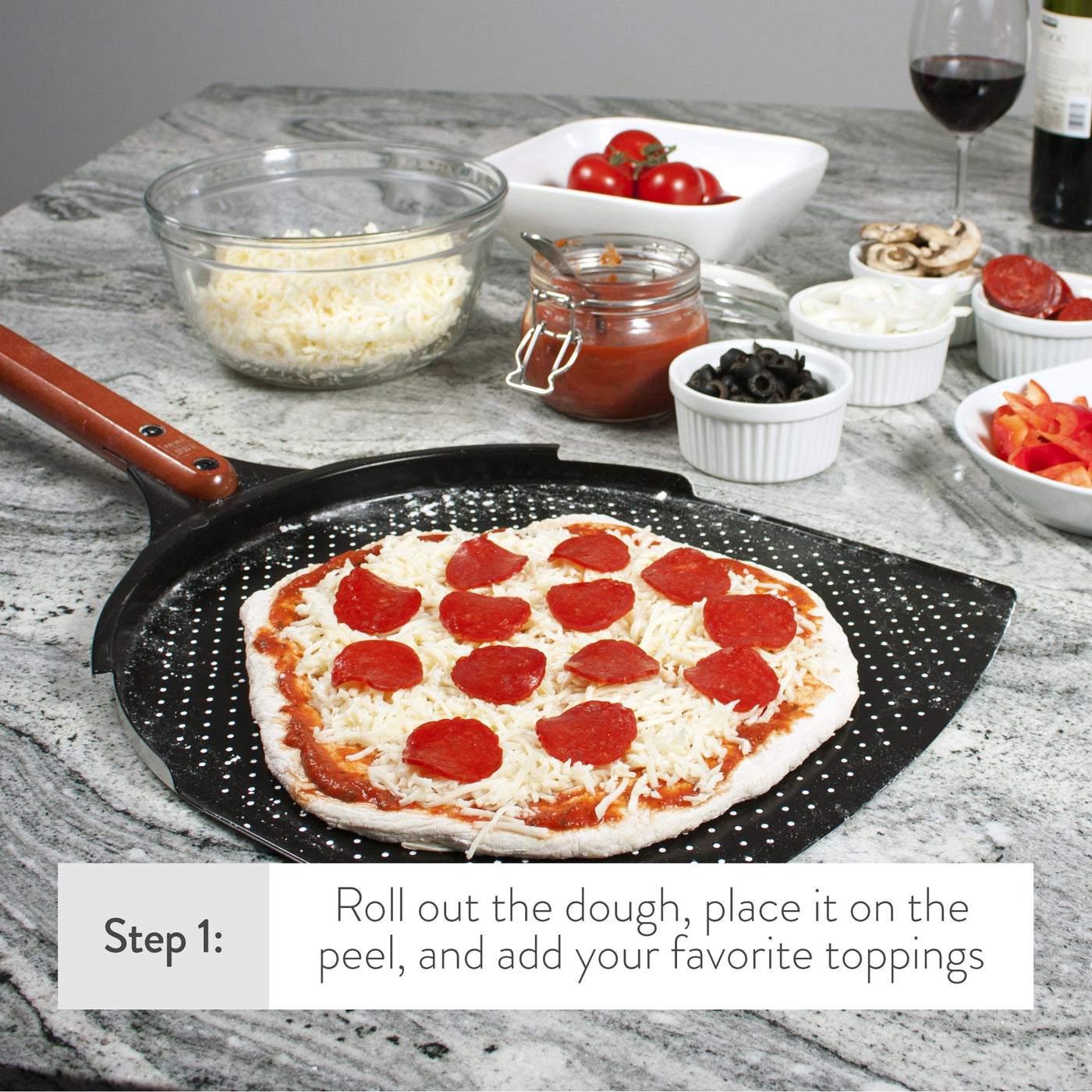 "The Ultimate 14"" Pizza Peel"