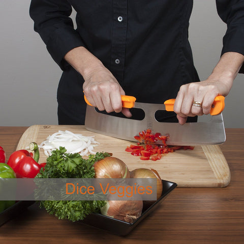"The Ultimate 14"" Pizza Cutter / Slicer, Rocker Style"