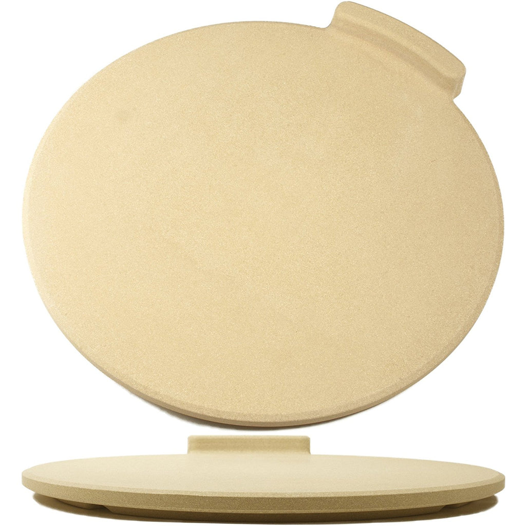 "The Ultimate Pizza Making Kit – Classic 16"" Round Pizza Stone and 14"" Pizza Peel"