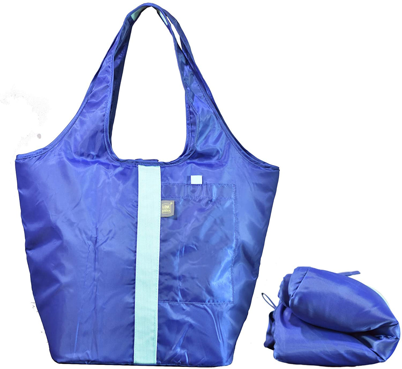 The Ultimate Insulated Grocery/Shopping Tote Bag with Zipper & Pocket | Foldable & Washable | Great as an Insulated Food Bag or Cool Beach/Picnic Bag