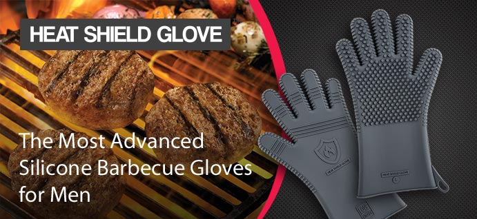 Men's Grillmaster Series Barbecue Gloves