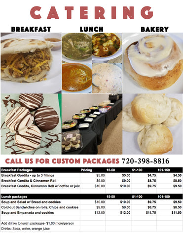 Catering Delivery Options
