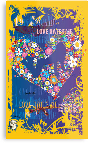 Love Hates Me Canvas Print