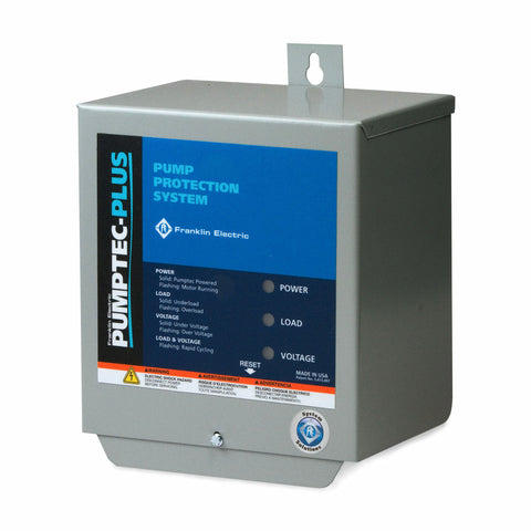 Franklin Electric Pumptec-Plus 1/2 HP to 1.5 HP  230v, Control Box.