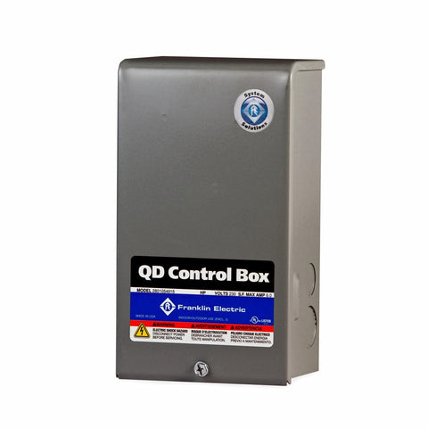Franklin Electric QD Control Box 1 HP 230v.