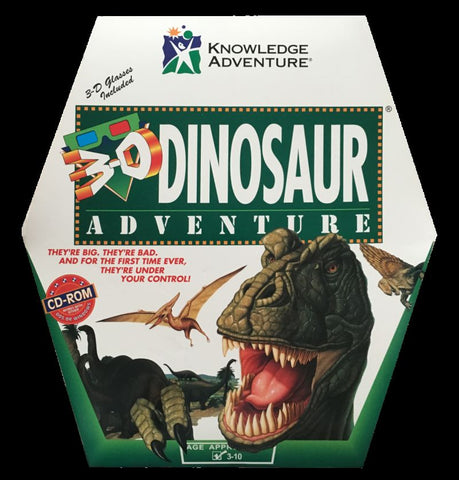 3-D DINOSAUR ADVENTURE +1Clk Windows 10 8 7 Vista XP Install