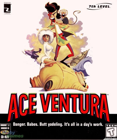 ACE VENTURA 7TH LEVEL PC GAME +1Clk Windows 10 8 7 Vista XP Install