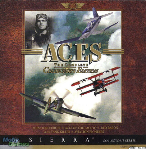 ACES OF THE PACIFIC, EUROPE, RED BARON, A10 TANK KILLER +1Clk Windows 10 8 7 Vista XP Install