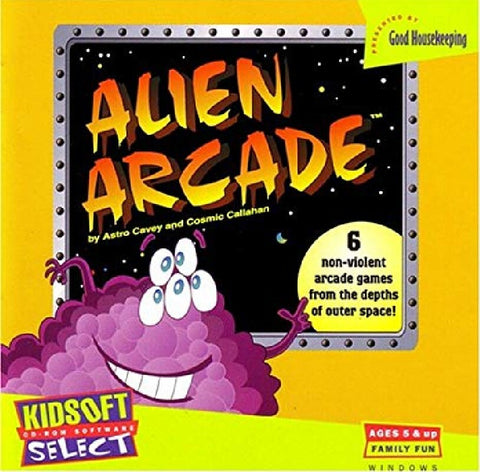 ALIEN ARCADE PC GAME 1994 +1Clk Windows 10 8 7 Vista XP Install