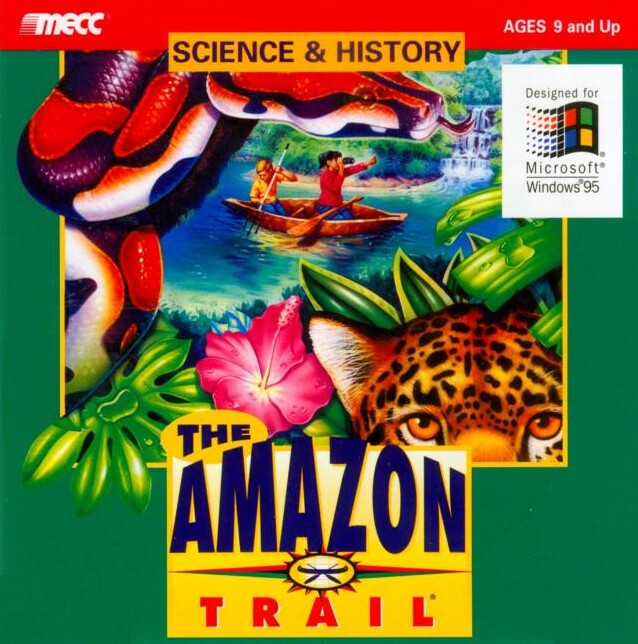 THE AMAZON TRAIL v1.2 PC +1Clk Windows 10 8 7 Vista XP Install