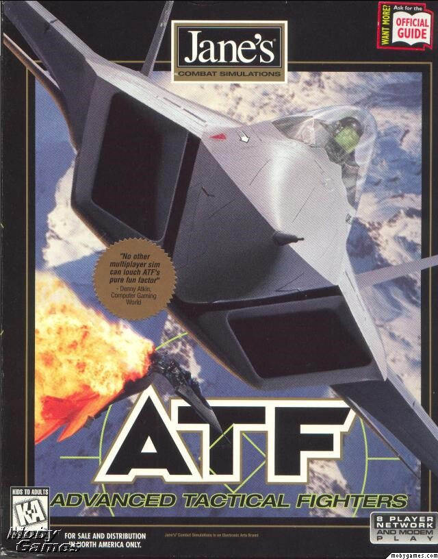 ATF JANE'S ADVANCED TACTICAL FIGHTERS +1Clk Windows 10 8 7 Vista XP Install
