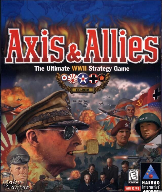 AXIS & ALLIES PC WARGAME +1Clk Windows 10 8 7 Vista XP Install