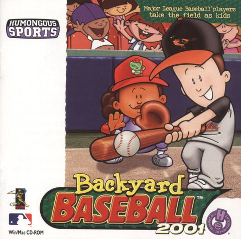 BACKYARD BASEBALL 2001 +1Clk Windows 10 8 7 Vista XP Install