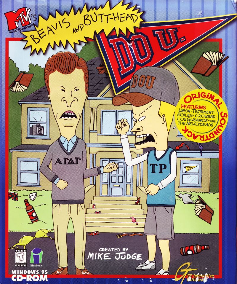 BEAVIS & BUTTHEAD DO U +1Clk Windows 10 8 7 Vista XP Install