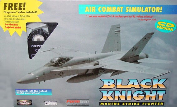 BLACK KNIGHT MARINE STRIKE FIGHTER +1Clk Windows 10 8 7 Vista XP Install