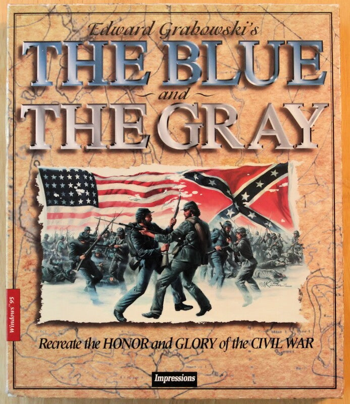 THE BLUE & THE GRAY PC GAME 1993 +1Clk Windows 10 8 7 Vista XP Install