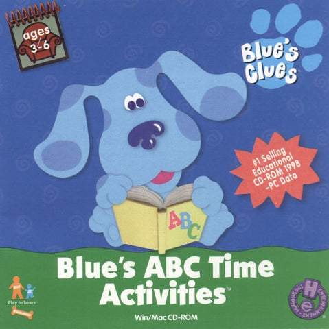 BLUE'S CLUES ABC TIME ACTIVITIES +1Clk Windows 10 8 7 Vista XP Install