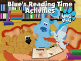 BLUE'S CLUES READING TIME ACTIVITIES +1Clk Windows 10 8 7 Vista XP Install