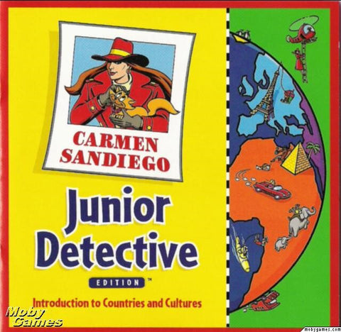 CARMEN SANDIEGO JR. DETECTIVE +1Clk Windows 10 8 7 Vista XP Install