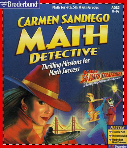 CARMEN SANDIEGO MATH DETECTIVE +1Clk Windows 10 8 7 Vista XP Install