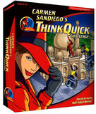 CARMEN SANDIEGO THINK QUICK CHALLENGE +1Clk Windows 10 8 7 Vista XP Install