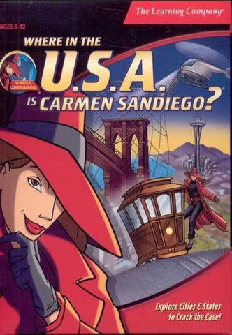 WHERE IN THE U.S.A. IS CARMEN SANDIEGO? 1996 +1Clk Macintosh OSX Install