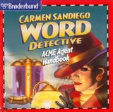 CARMEN SANDIEGO WORD DETECTIVE +1Clk Windows 10 8 7 Vista XP Install