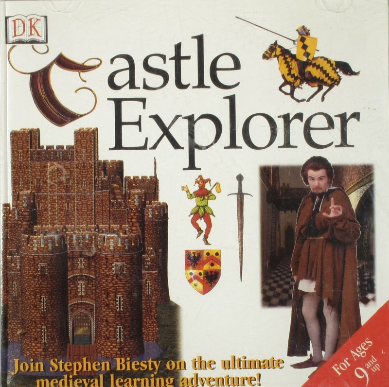 DK CASTLE EXPLORER DORLING KINDERSLEY +1Clk Windows 10 8 7 Vista XP Install