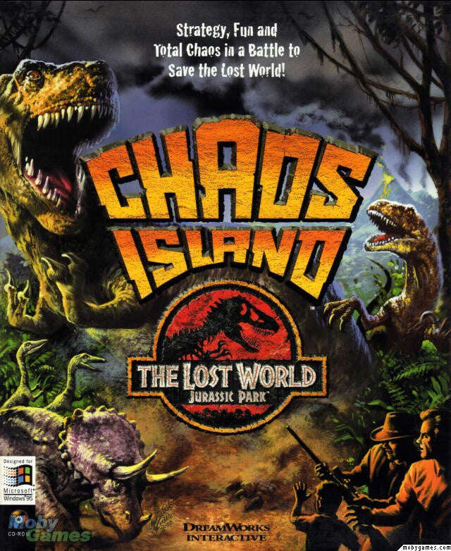 JURASSIC PARK CHAOS ISLAND +1Clk Windows 10 8 7 Vista XP Install