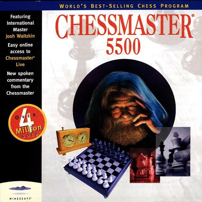 CHESSMASTER 5500 +1Clk Windows 10 8 7 Vista XP Install