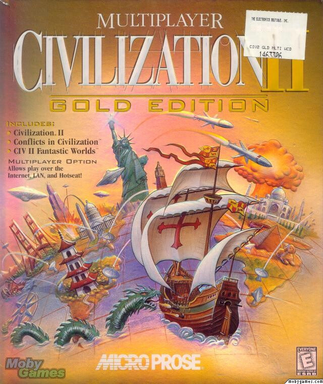 CIVILIZATION II GOLD W/EXPANSIONS +1Clk Windows 10 8 7 Vista XP Install