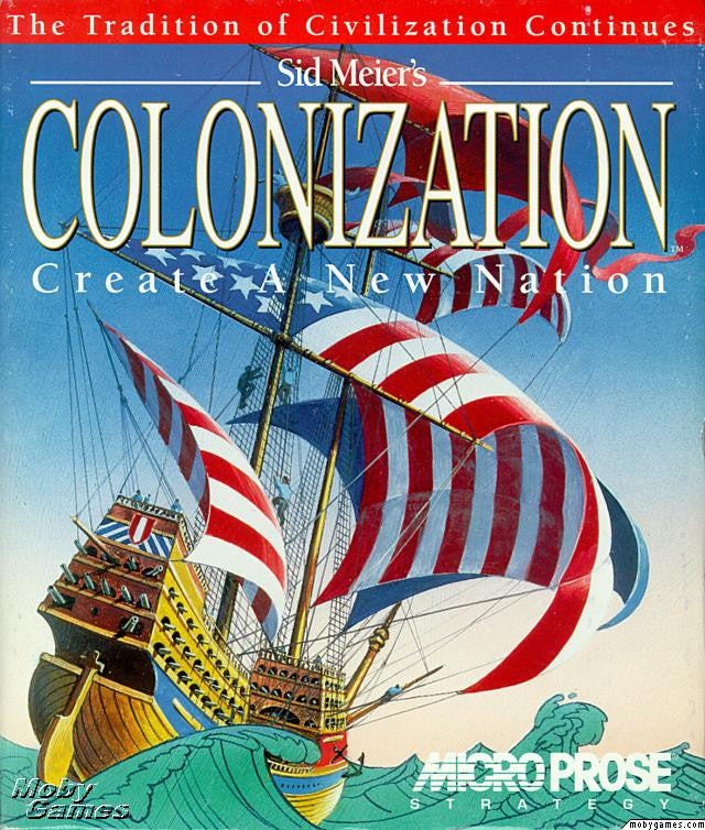 COLONIZATION SID MEIER +1Clk Windows 10 8 7 Vista XP Install