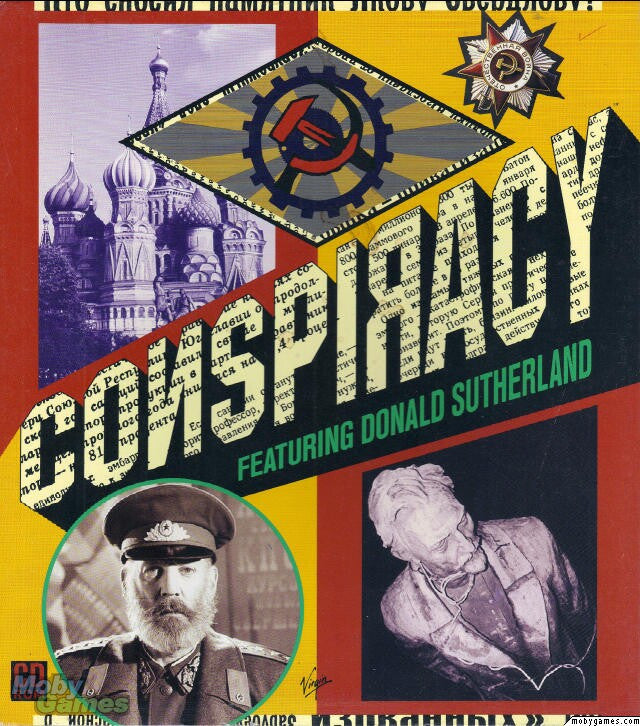 CONSPIRACY aka KGB PC GAME +1Clk Windows 10 8 7 Vista XP Install
