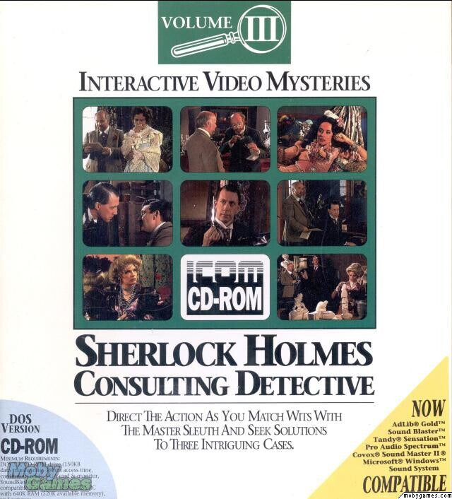 SHERLOCK HOLMES CONSULTING DETECTIVE VOL 3 +1Clk Windows 10 8 7 Vista XP Install