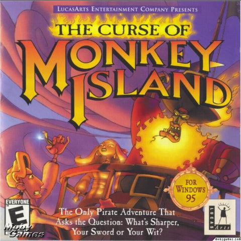 THE CURSE OF MONKEY ISLAND +1Clk Windows 10 8 7 Vista XP Install