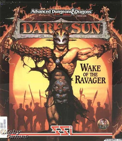 AD&D DARK SUN II: WAKE OF THE RAVAGER +1Clk Windows 10 8 7 Vista XP Install