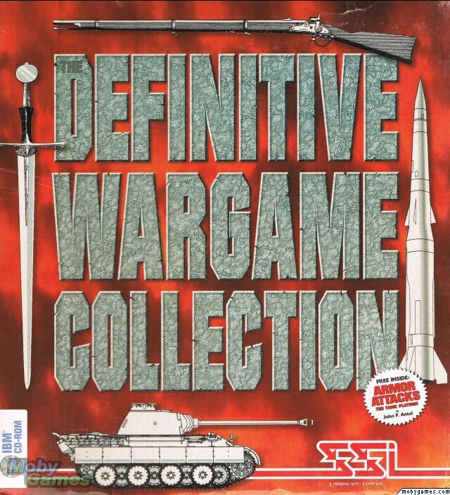 DEFINITIVE WARGAME COLLECTION SSI +1Clk Windows 10 8 7 Vista XP Install