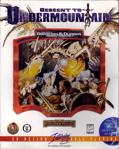 AD&D DESCENT TO UNDERMOUNTAIN +1Clk Windows 10 8 7 Vista XP Install