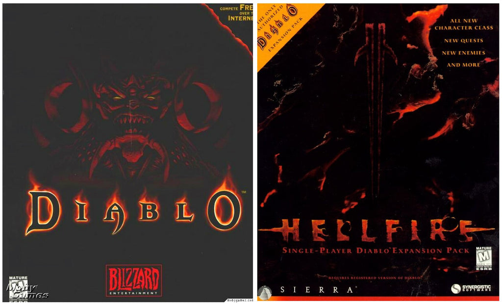 DIABLO 1 AND HELLFIRE EXPANSION +1Clk Windows 10 8 7 Vista XP Install