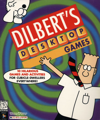 DILBERT'S DESKTOP GAMES +1Clk Windows 10 8 7 Vista XP Install