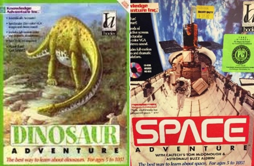 DINOSAUR SPACE KNOWLEDGE ADVENTURE +1Clk Windows 10 8 7 Vista XP Install