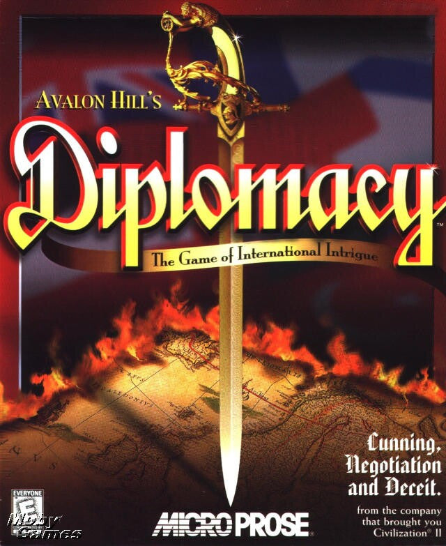 DIPLOMACY AVALON HILL +1Clk Windows 10 8 7 Vista XP Install