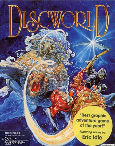 DISCWORLD 1 PC GAME TERRY PRATCHETT +1Clk Macintosh OSX Install
