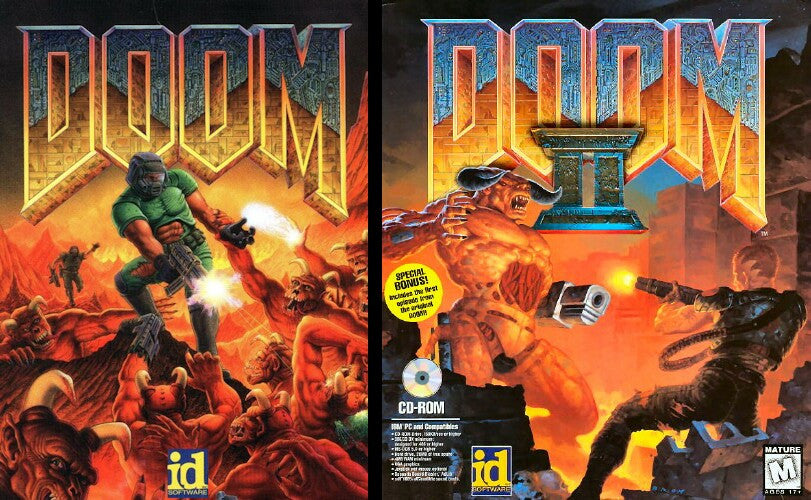 DOOM I & II HIGH-RES EDITION +1Clk Macintosh OSX Install