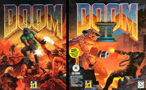 DOOM I & II HI-RES EDTION +1Clk Windows 10 8 7 Vista XP Install